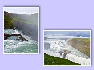 Gulfoss collage