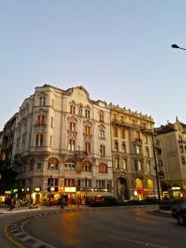Near Erzsébet Bridge